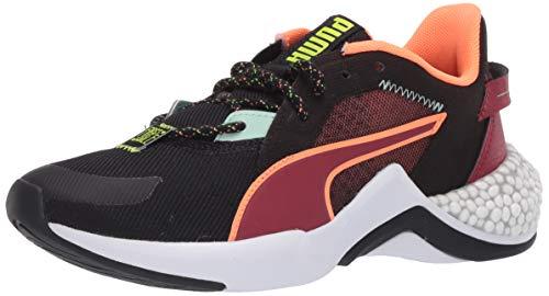 PUMA Tenis Hybrid Nx para mujer, negro (Puma Black-tapioca-puma Blanco), 35.5 EU