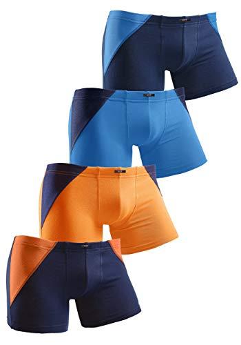 H.I.S Jungen Boxershorts bunt, 4 er Pack, 632452 (146)