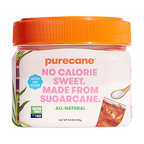 Purecane Sugar Substitute Canister, Purecane 9.8 Ounce