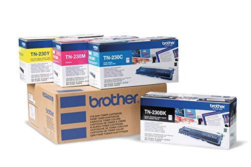 Brother BRBUNDLE2 BRTN230SET Original Toner, schwarz/cyan/magenta/gelb