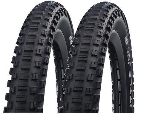 2本セット SCHWALBE(シュワルベ) LITTLE JOE 20インチタイヤ 406 クリンチャー フォールディングタイヤ Black Reflex (20x2.00) [並行輸入品]