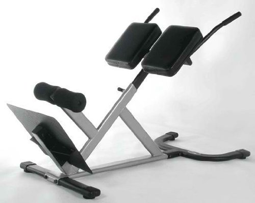 NEW Roman 45 Degree Heavy Duty Hyperextension Gym Chair Ab Abdominal Bench