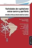 Variedades de capitalismo entre centro y periferia: Miradas críticas desde América Latina: 1 (Desarrollo, espacio y políticas públicas)