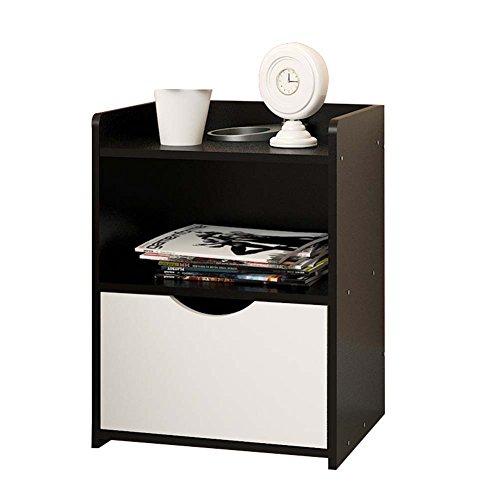 Table de chevet JCOCO Panneau à Base de Bois de avec Le Stockage de tiroir, de boîte de Rangement de casier de Chambre à Coucher (Couleur : #3, Taille : 36.5 * 30 * 40cm)