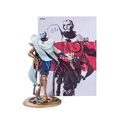 Liga de Leyendas De Figuras Juego, LOL Sculpture Series/El Virtuoso Khada Jhin (XL) Exquisito y Fresco Modelos de Resina, Ideal for el Escritorio Colecciones Estatua o vitrinas
