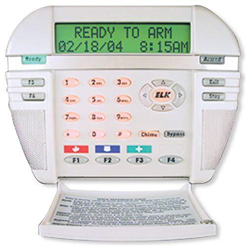 Elk M1KP LCD Keypad, 6 Functions Keys