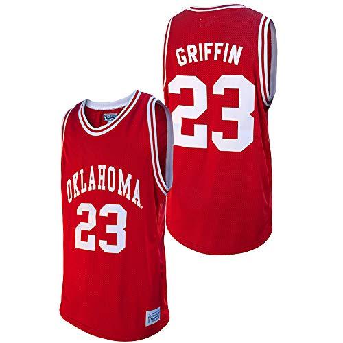 Elite Fan Shop Blake Griffin Retro Oklahoma Sooners Basketball Jersey - Medium - Blake Griffin Crimson