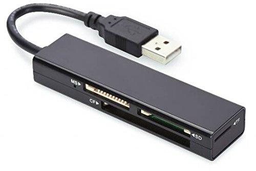 Ednet E85241 Lettore Card Universale, USB 2.0