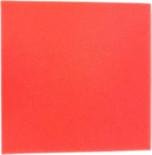 Pondlife Teich - Filterschaum/Filtermatte rot Red-Premium Größe 50 x 50 x 5 cm PPI 30 fein