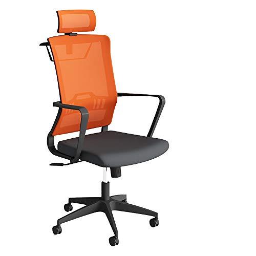 Qi Peng-//Chaise pivotante-Ordinateur Chaise Taille à la Maison Chaise de Bureau Ascenseur Ergonomique Chaise pivotante Personnel Patron Maille Chaise avec Cintre Chaise pivotante (Couleur : B)