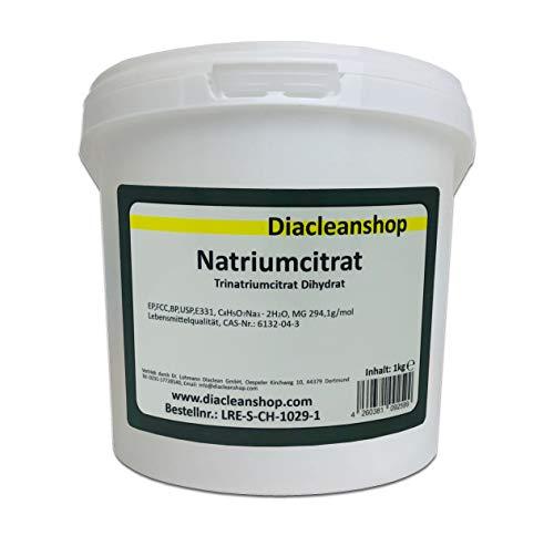 Natriumcitrat 1kg Pulver - E331 Trinatriumcitrat - Lebensmittelqualität