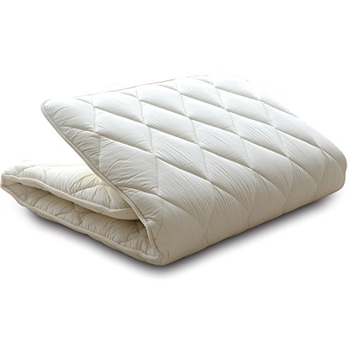 EMOOR -CLASSE Series- Shikifuton, Japanese Futon Mattress, Full (55x79in), Made in Japan