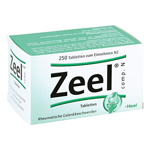 Zeel comp. N Tabletten Heel, 250 St. Tabletten