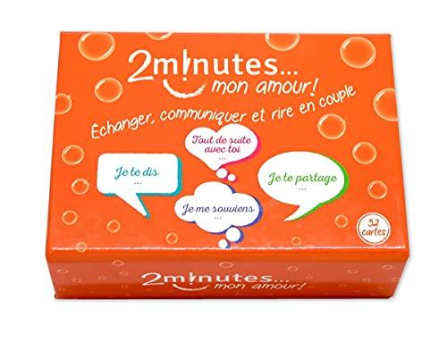 Jeux2Minutes - 2 minutes... mon amour ! - Jeu Couple - Améliorer la Communication et la Complicité !