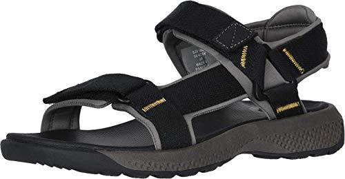 Dockers Sandales de sport pour homme Zander, noir (noir), 44.5 EU