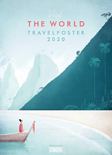 Travelposter 2020 – Reiseplakate-Kalender von DUMONT– Wand-Kalender – Poster-Format 49,5 x 68,5 cm