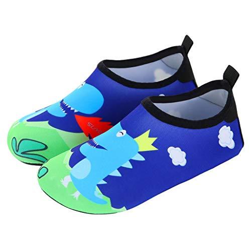 GDSSX Snelle Droge Peuter Water Schoenen Kinderen Cartoon Beach Sokken Duikschoenen Snorkeling Sokken Zwemschoenen, Skinny, Zachte Schoenen Antislip Vloer Sokken Vroege Onderwijs Schoenen