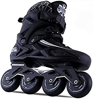 Inline Roller Skates for Adults/Fashion Single Row Skates, With Protective Gear - for Roller Club and Outdoor Sports(Unisex),44