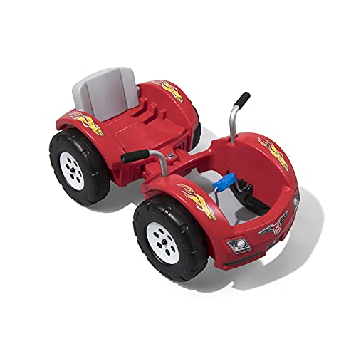Step2 Zip N' Zoom Pedal Car   Kids Red Ride On Toy   Adjustable Grow-with-Me Seat