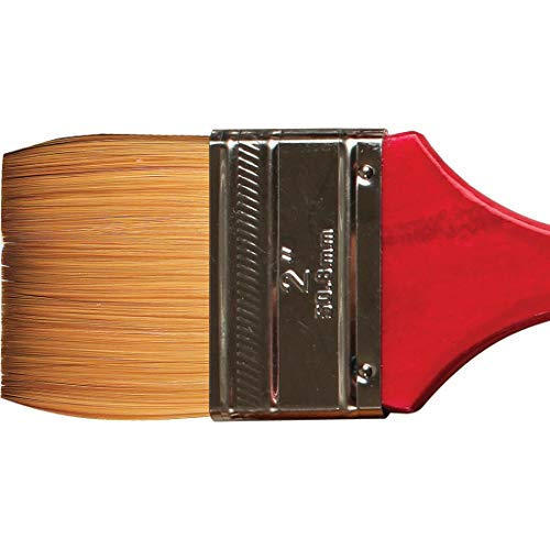 United #1727 Synthetic Sable Watercolor Brush Flat Wash 2'