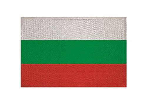 U24 Aufnäher Bulgarien Flagge Aufbügler Patch 9 x 6 cm