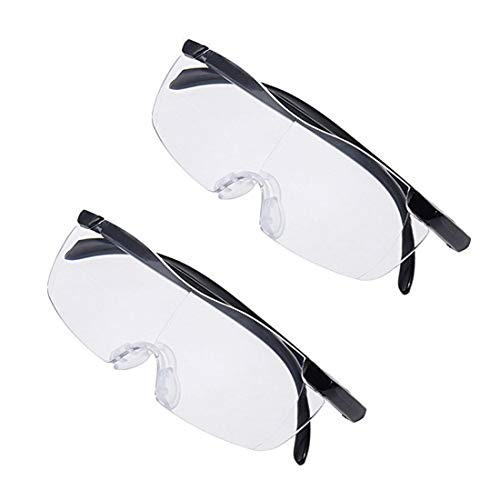 2Pcs Big Vision Magnifying Glasses As Seen On TV Everything 160 Bigger & Clearer