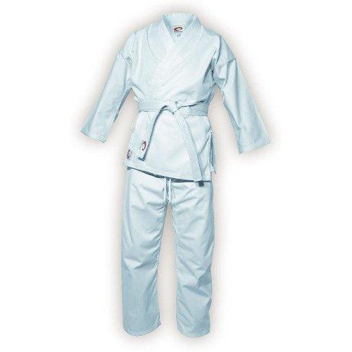 Spokey Unisex Raiden algodón Kimono de Karate, Color Blanco, 110cm