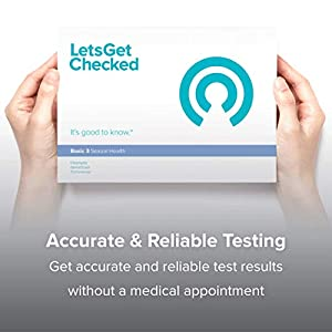 LetsGetChecked - at Home STD Test Kit | STI - Chlamydia, Gonorrhea & Trichomonas Screening | for Men and Women | CLIA-Certified Results in Days | 100% Private and Discreet | Accurate and Fast Test |