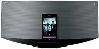 SONY ウォークマン用ドックコンポ Bluetooth対応 CDプレーヤー内蔵 ラジオ内蔵 ダークシルバー CMT-V70B/S