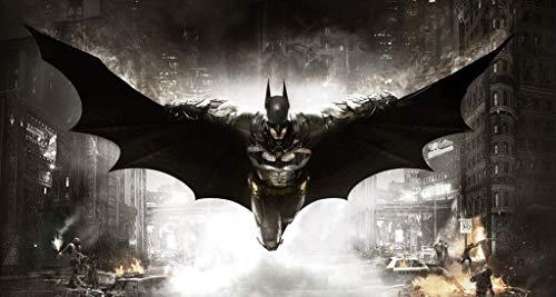 Puzzle House- Batman Comic Illustration, Rompecabezas de Madera, Dark Knight Movie Film Poster, Cut & Fit, 500/1000 Piezas en Caja Fotografía Juguetes Juego Arte Pintura para Adultos y niñ