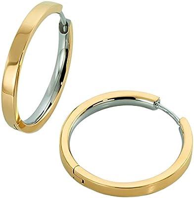 Boccia 32013891 - Orecchini a cerchio da donna, in titanio