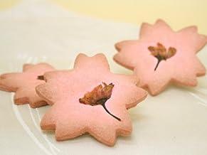 【ばら売り】 桜 クッキー × 1枚 (サクラ の 形と さくら 色 が可愛いクッキー)