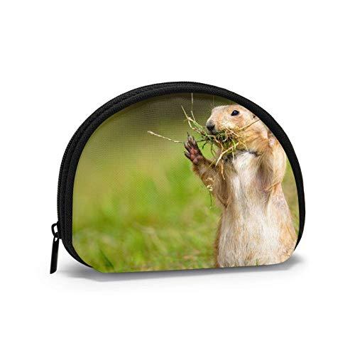 Bolso de viaje con cremallera para monederos, diseño de marmotas