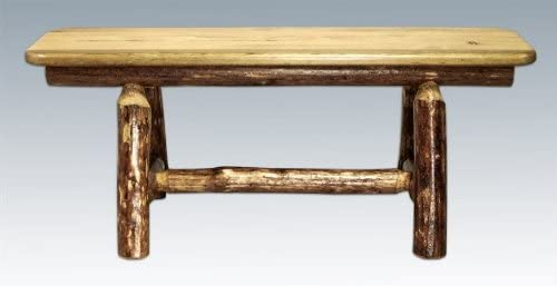 D2D Glacier Country 45'' Style Dealing full price reduction Arlington Mall Plank Bench