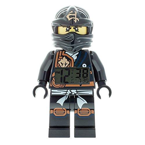 LEGO–Despertador Ninjago Jungle Cole 'Lego'–Negro–niño