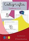 Caligrafía Montessori Cuaderno 8: Mejora trazos y escritura   pauta Montessori   1º Educación Primaria   Editorial Geu: Caligrafía Educación Primaria (Caligrafia Montessori Niños 6 a 7 años)