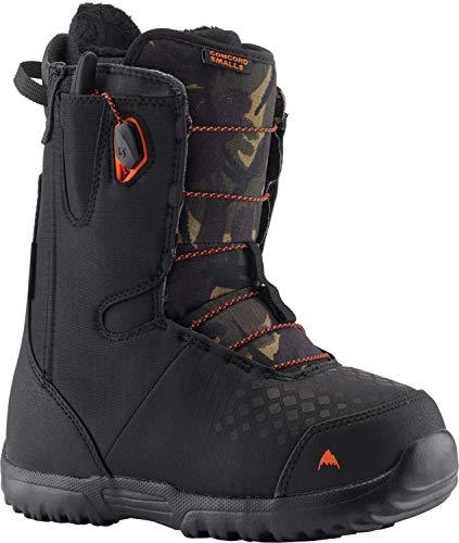 Burton Concord Smalls Snowboard Boots Black/Camo Kids Sz 6