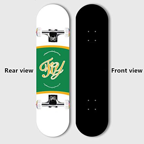 BLH Adult Skateboard Fähigkeiten Für Anfänger, Geburtstagsgeschenk Skateboarden, Teens, Mädchen, Jungen, Erwachsene Skateboard,Heavenly Palace