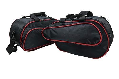 Passgenau Motorrad Kofferinnentaschen 1 Paar für Ducati Multistrada 1200 und 950 ab 2015