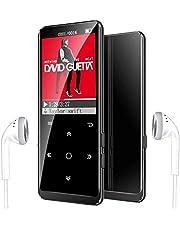 16G Reproductor MP3 Bluetooth 4.1, Mibao Reproductor de Música para el Deporte Pantalla TFT de 1.8 Pulgadas, FM Radio, Auriculares, Soporte SD USB TF hasta 64 GB Tarjeta