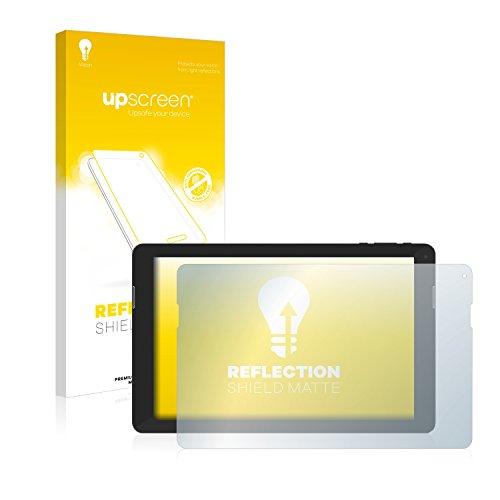 upscreen Entspiegelungs-Schutzfolie kompatibel mit TrekStor SurfTab xintron i 10.1 Fan Edition – Anti-Reflex Bildschirmschutz-Folie Matt