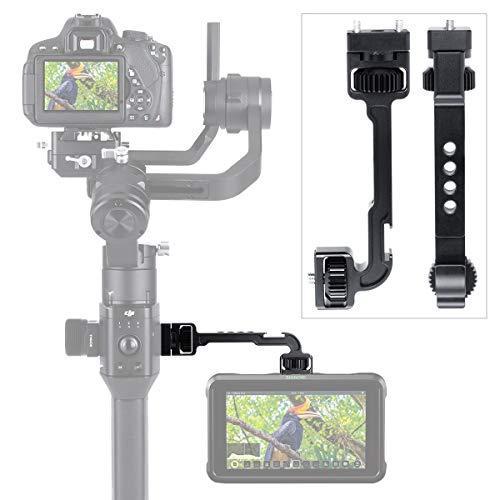 Placa de extensión de montaje en monitor para DJI Ronin S / Ronin SC Estabilizador Gimbal Accesorios Cold Shoe Magic Arm podría agregar micrófono, luz de video LED