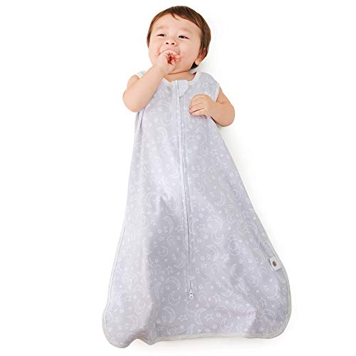 MioRico Saco Dormir Bebe 1 TOG Saquito de Dormir 100% Algodon Organico Recien Nacido Pijama Manta Bebes 4 Estaciones Saco de Dormir para Bebés Regalo Recien Nacidos Niño Niña, 3-6 Meses