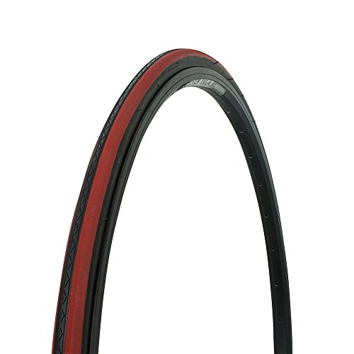 Bicycle Wanda Tire 700x25c P-1076, Road Bike, Fixie, Hybrid, (Black/Red Line)