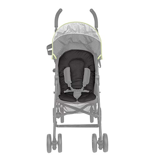 Delta Children Universal Cushioned Mesh Stroller Liner, Black