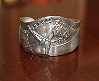 Horse Lady Gifts cuff bracelets, Gentle Giant Draft Horse bracelet handmade by the artist USA