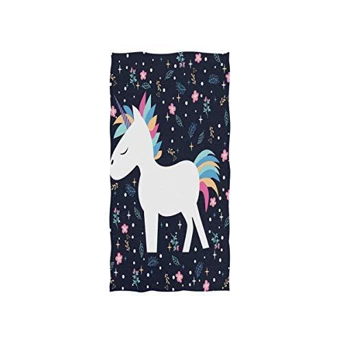 Rode washandjes van Hotel Spa Gym Sport 30 x 15 inch sport washanddoek handdoek soft floral Unicorn Kerstmis