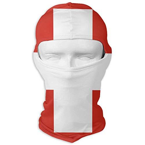 ERGDF Schweizer Flagge Unisex Outdoor Sonnencreme Winddichter Halstuch Sturmhaube Kopfbedeckung Motorhaube Motorrad Radfahren Angelgesicht