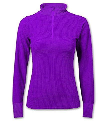 Paramo Directional Clothing Systems - Maglia Intima da Donna Classica e Confortevole, ad Asciugatura Rapida, Viola (Digitale), XS