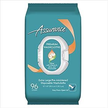 assurance washcloths